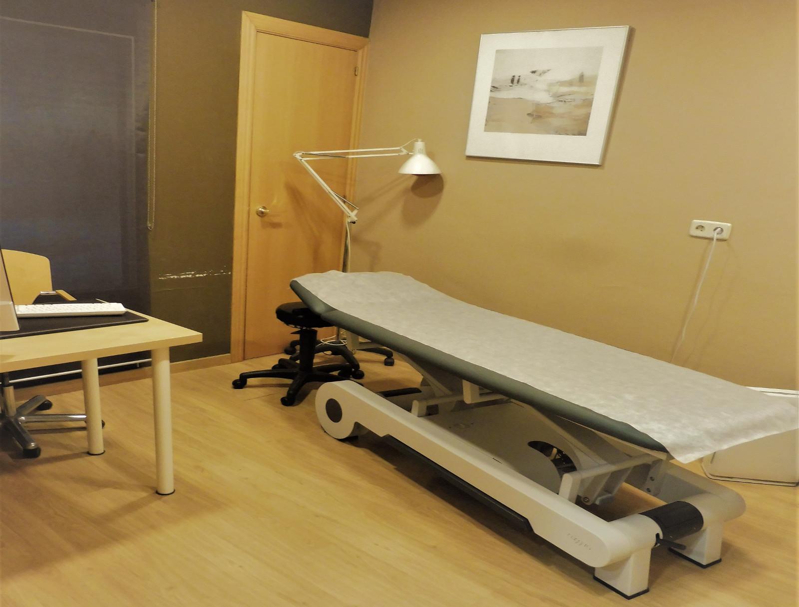 Sala de Osteopatía y Fisioterápia